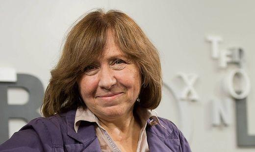 Literaturnobelpreis fuer Swetlana Alexijewitsch