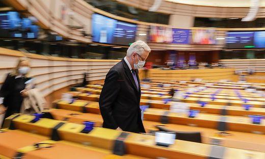 Barnier im EU-Parlament