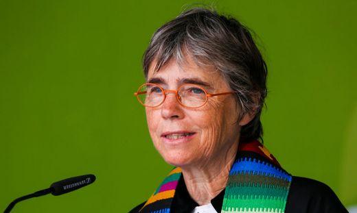 Ulrike Frank-Schlamberger wuchs in Kapfenberg auf, studierte in Wien Theologie und geht nun als Pfarrerin der Grazer Heilandskirche in Pension