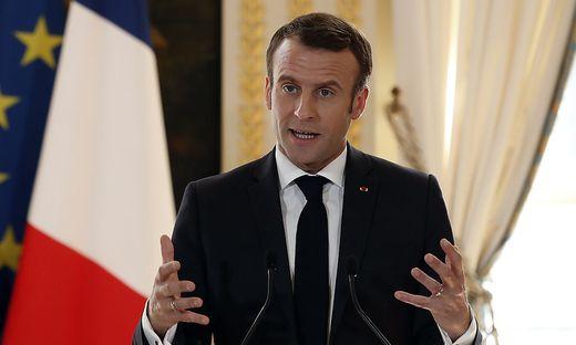 Macron veröffentlichte einen Gastbeitrag in führenden Zeitungen Europas