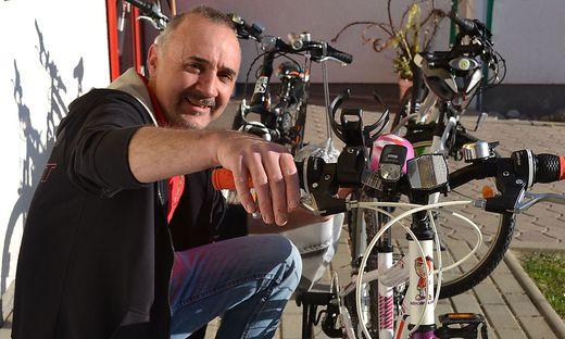 Günther Schuch gibt Tipps zur richtigen Fahrradpflege