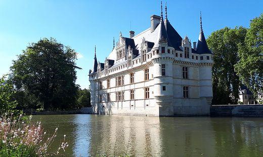 Das Schloss Azay-le-Rideau ist das wohl bekannteste Schloss der Region