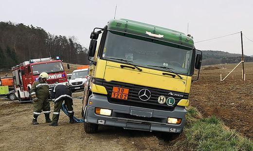 Feuerwehreinsatz S7 bei Rudersdorf