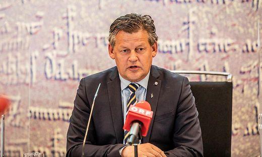 PK neue Stadtregierung Klagenfurt
