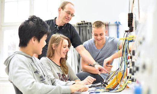 Jugendliche für den Arbeitsmarkt fit zu machen, ist das Ziel des Vereins