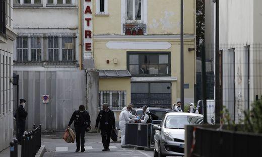 """Messerattacke in der Nähe der ehemaligen """"Charlie Hebdo""""-Redaktion"""