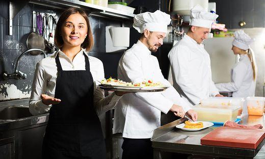 In der Gastronomie warten alle schon hart auf die Öffnung