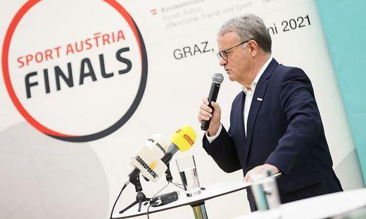 Sport-Austria-Präsident Hans Niessl