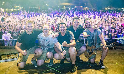 Die Musiker wurden vergangenen Donnerstag zu den Köpfen des Jahres der Kleinen Zeitung gekürt