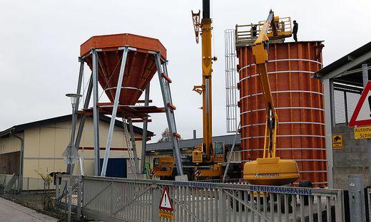 300 Tonnen fasst der neue Salzsilo der Stadt