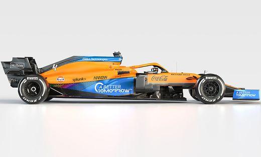 Der McLaren für die Saison 2021