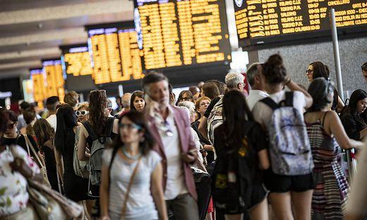 Folgenreiches Chaos in Italiens Bahnverkehr