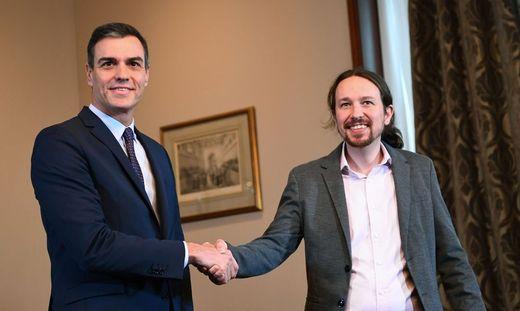 Pedro Sánchez und Pablo Iglesias haben sich geeinigt