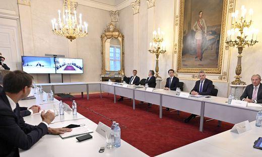 Treffen der Regierungsspitze mit den Landeshauptleuten