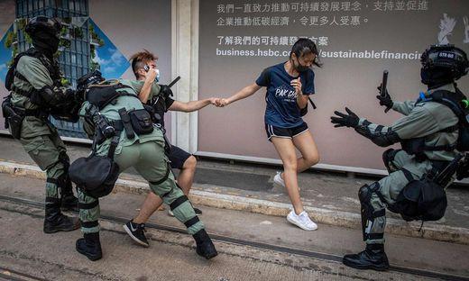 FILES-HONG KONG-CHINA-POLITICS-UNREST