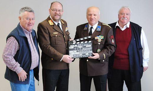 Engagiertes Team: Hans Amon, Josef Gaich, Alois Gritsch und Helmut Strunz