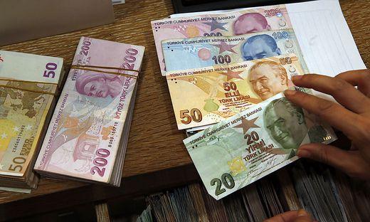 Die türkische Lira verliert weiter an Wert