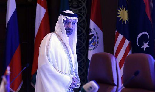 Energieminister Khalid al Falih