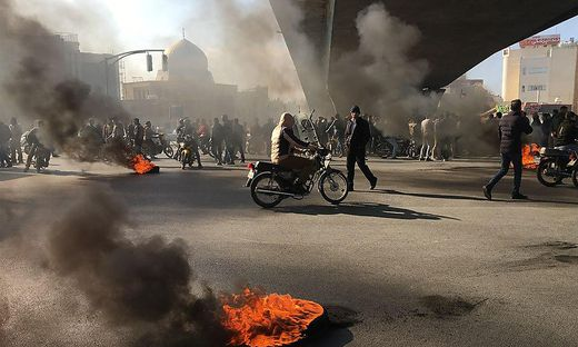 IRAN-POLITICS-PETROL-DEMO