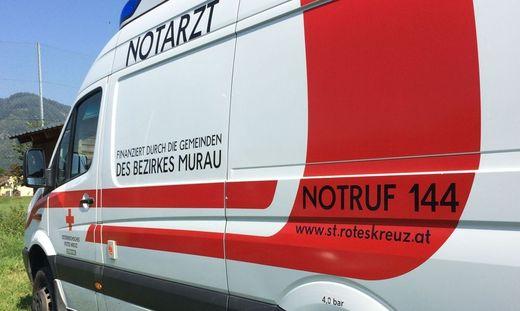 Das Rote Kreuz versorgte den Verletzten