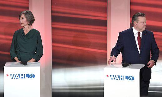 WIEN-WAHL: TV-DISKUSSION - LUDWIG / HEBEIN