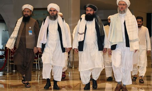 Delegation der Taliban in Doha