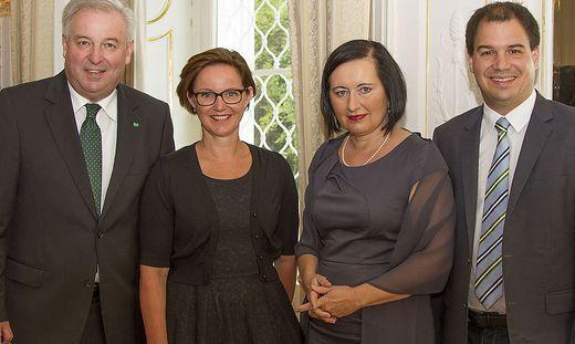 Schützenhöfer, Getzinger, Meixner und Schickhofer.