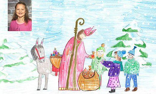 Weihnachtsbilder Nikolaus.Oberkärnten Kinder Schickt Uns Eure Weihnachtsbilder