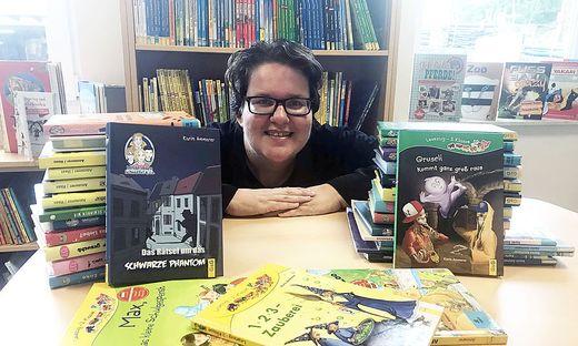 Karin Ammerer hat bereits 43 Kinderbücher geschrieben