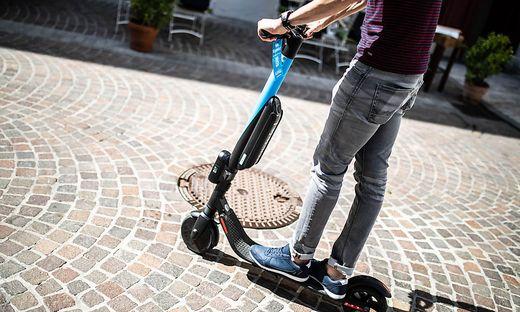 Leih-E-Scooter sind in vielen Städten bereits im Einsatz