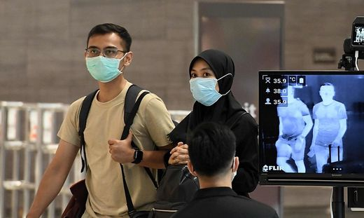 Singapur reagiert zu Beginn er Krise rasch