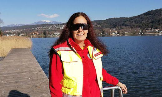 Für Esther Steiner ist ihre Tätigkeit bei der Österreichischen Wasserrettung eine Berufung