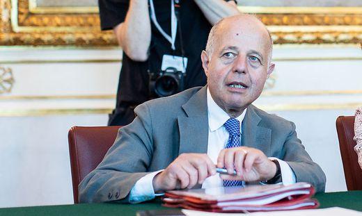Justizminister Clemens Jabloner