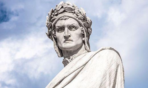 Der italienische Nationaldichter Dante Alighieri