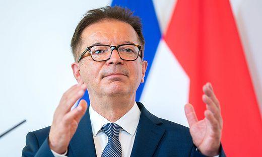 Gesundheitsminister Rudolf Anschober (Grüne): Wartet auf echte Zahlen
