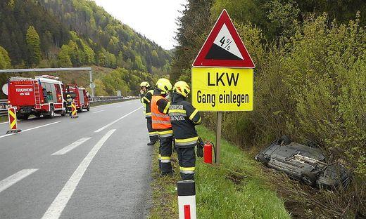 Unfall auf A9