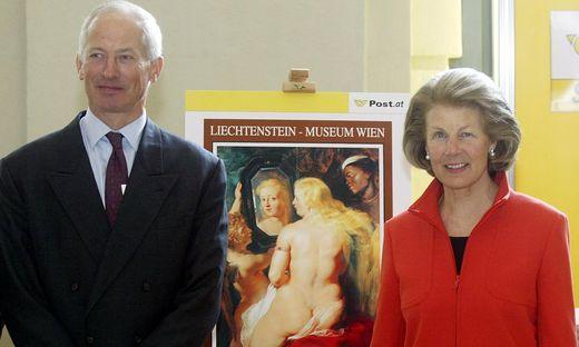 Das Fürstenpaar auf einem Archivbild von 2005