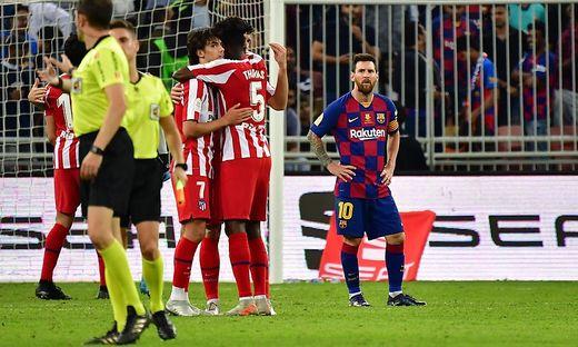 Messi triift, Barca verliert trotzdem