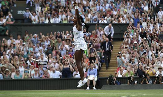 15-jährige Gauff erreicht Wimbledon-Achtelfinale