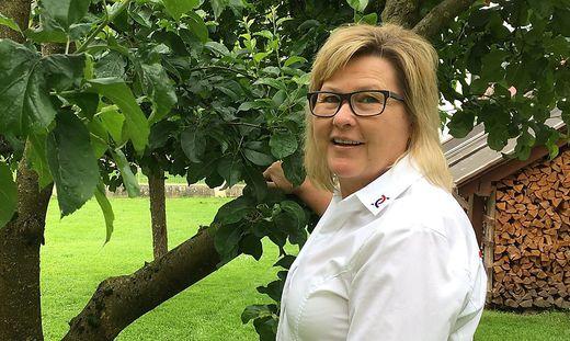 Roswitha Fraiss leitet das Hospiz-Team Mürztal
