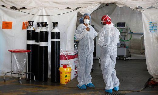Im Kampf gegen die zweite Welle der Pandemie hat Afrika indes keine ausreichende Sauerstoffversorgung.