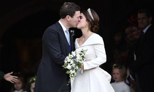 Prinzessin Eugenie und ihr Mann Jack Brooksbank
