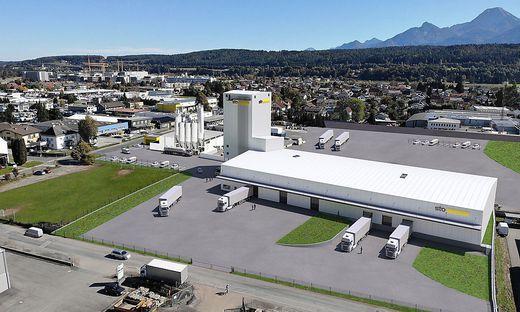Neue Produktionsanlage in Villach