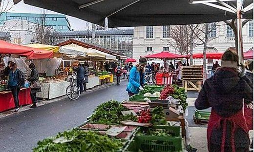 Die Politik will die Bauernmärkte unbedingt offen halten