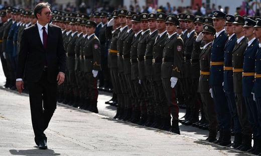 Der serbische Präsident Aleksandar Vučić ist ein virtuoser Techniker der Macht, der nicht gerade zimperlich mit Kritikern umgeht
