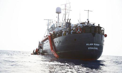Alan Kurdi darf anlegen - die Flüchtlinge müssen aber sofort Malta verlassen