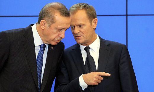 Erdogan und Tusk