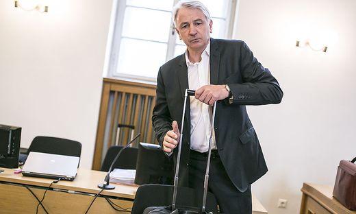 Wolfgang Kulterer hat am Montag seine Haftstrafe angetreten