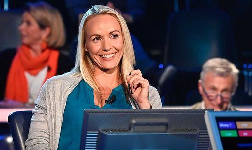 Jasmin Ouschan hatte bei der Millionenshow gut lachen