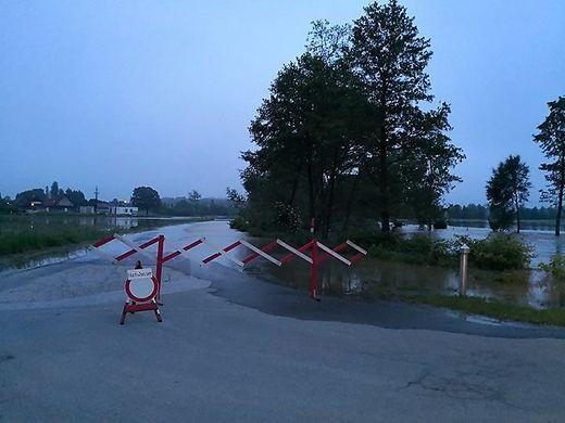 Die Laßnitz führt am Mittwoch Hochwasser